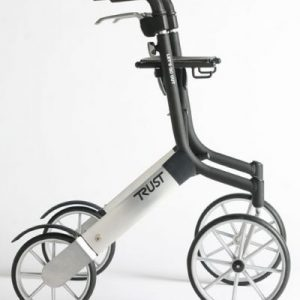 Trust Care Outdoor Seat Walker (With Backrest & Bag)