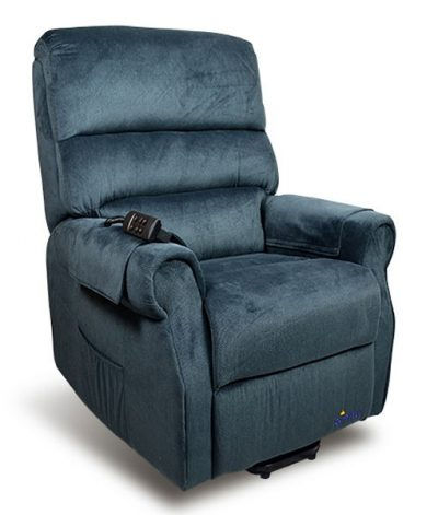 Lift Chair Recliner Mayfair Signature Electric blue
