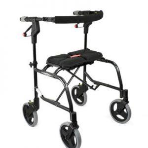 Nexus Cable Free Seat Walker 3 black 150kg with soft basket 1 year war