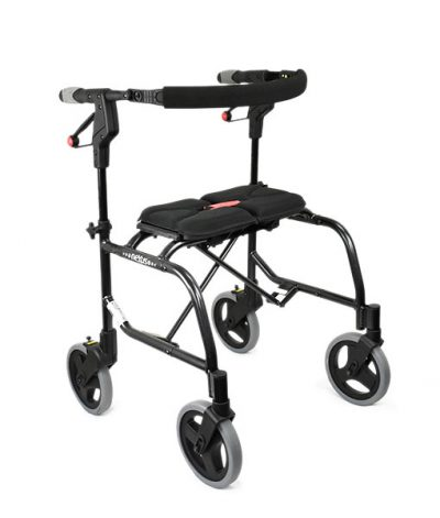 Nexus Cable Free Seat Walker 3 black 150kg with soft basket 1 year war