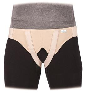 Vulkan hernia belt, Double side S beige