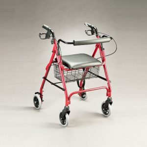 Jubilee Heavy Duty Walker Burgundy